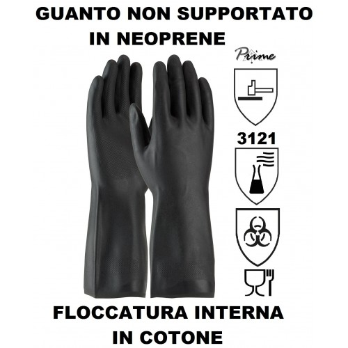 GUANTO NON SUPPORTATO IN NEOPRENE
