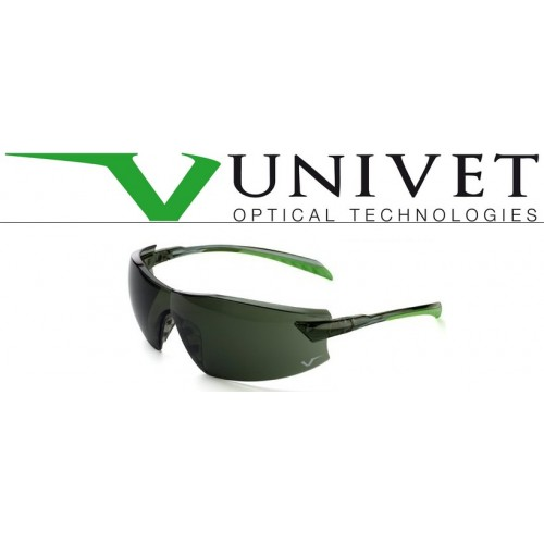 OCCHIALI  UNIVET FUMO/VERDE LENTE PC GREEN G15 AS