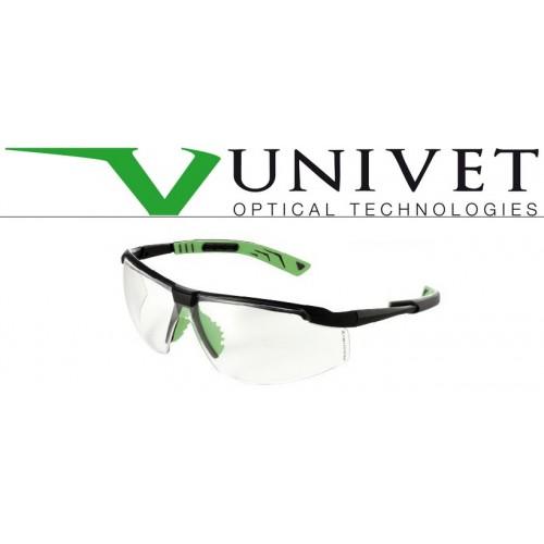 OCCHIALI UNIVET GUNMETAL/VERDE AS/AF (+)UV400