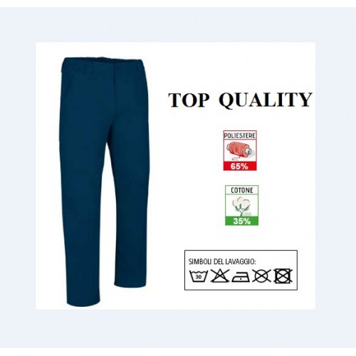PANTALONI TOP QUALITY IN POLIESTERE COTONE