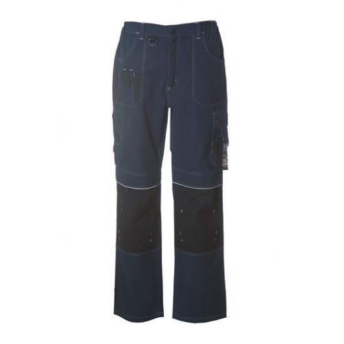 Pantaloni Multitasche 100% Tela Di Cotone