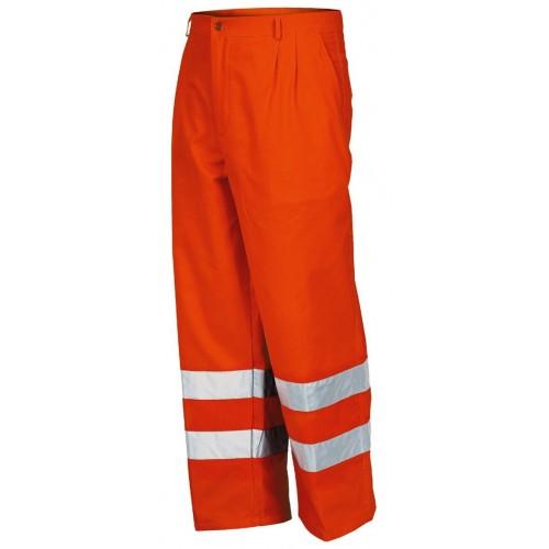 Pantaloni Alta Visibilita' Invernale Fustagno