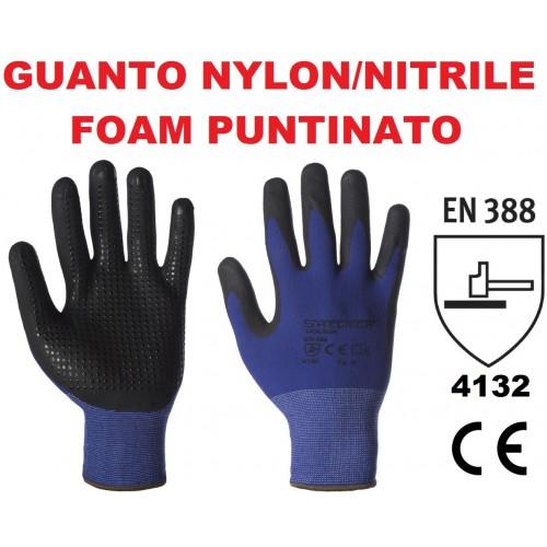 Guanto Nylon/nitrile Foam Puntinato
