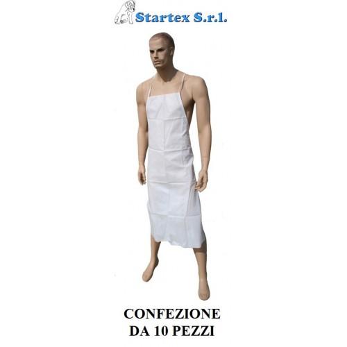 GREMBIULE POLIPROPILENE CATEGORIA  I CONF.10 PEZZI