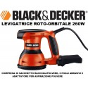 LEVIGATRICE ROTO-ORBITALE 260W BLACK&DECKER