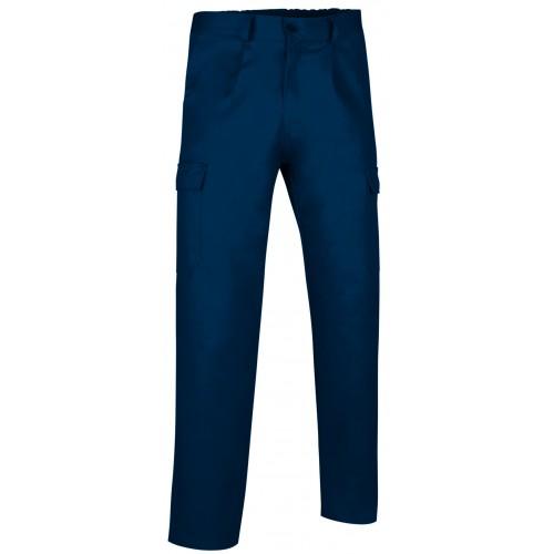 Pantaloni Multitasche Estivo Con Tasconi Laterali