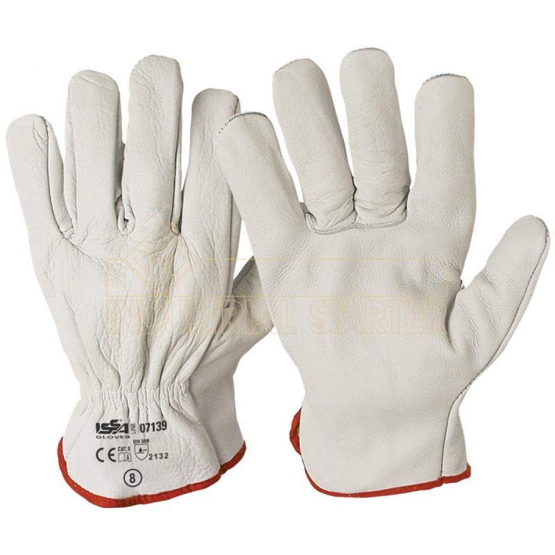 enorme sconto vendite speciali alta moda masic30 - guanti in pelle fiore di bovino