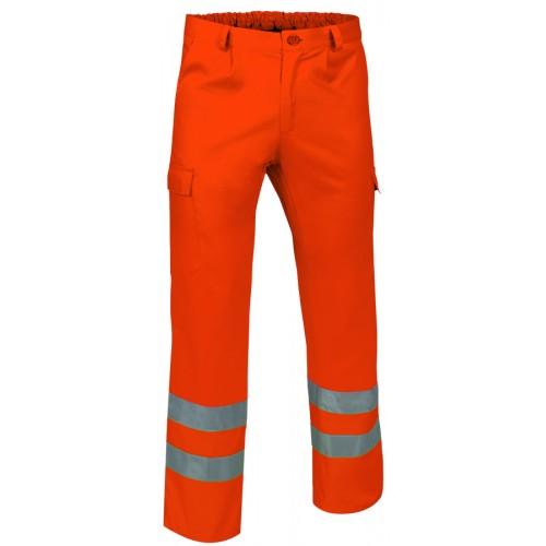 Pantaloni Multitasche In Alta Visibilita'