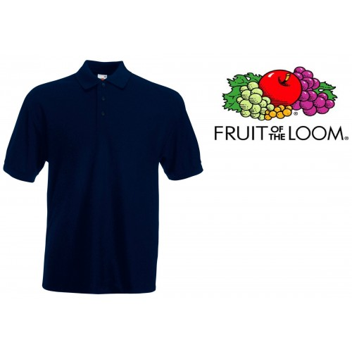 POLO MANICA CORTA MASCHILE  FRUIT OF THE LOOM