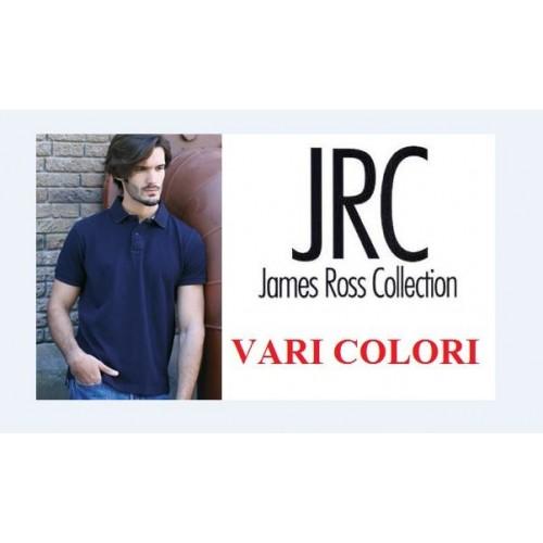 Polo  Manica Corta Maschile Modello Jrc 100%cotone