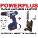 TRAPANO AVVITATORE A BATTERIA 14.4 V