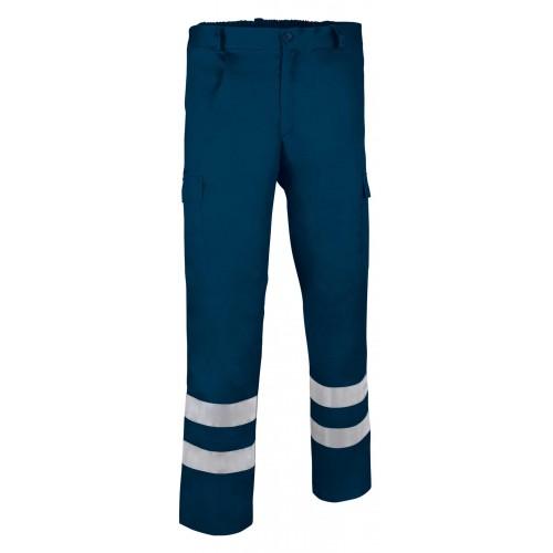 Pantaloni Multitasche In Alta Visibilita' Estivo