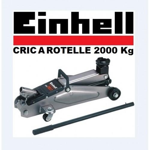 Sollevatore Idraulico A Rotelle 2000 Kg Einhell