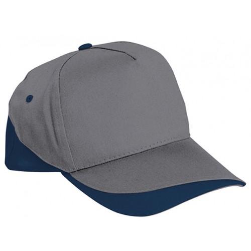 Cappellino Bicolore Con Aerazione Doppie Cuciture