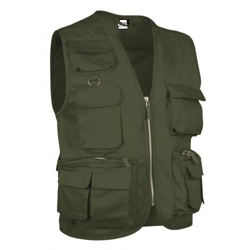 Gilet Multitasche Tasche Anteriore E 2 Posteriore