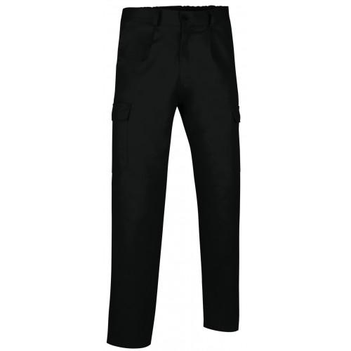 Pantalone Estivo Multitasche Colore Nero