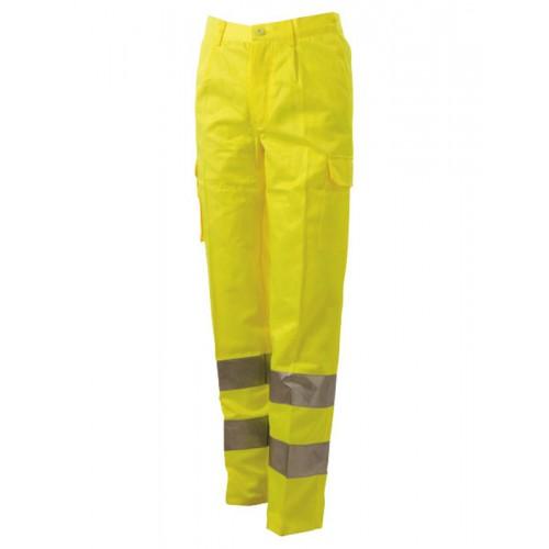 Pantalone Alta Visibilita Con Due Tasconi Laterali