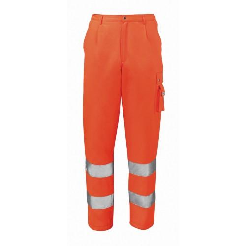 Pantalone Invernale Arancio Fluo Alta Visibilita'