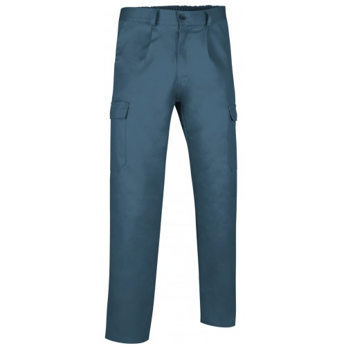 Pantalone Multitasca Con Elastico In Vita